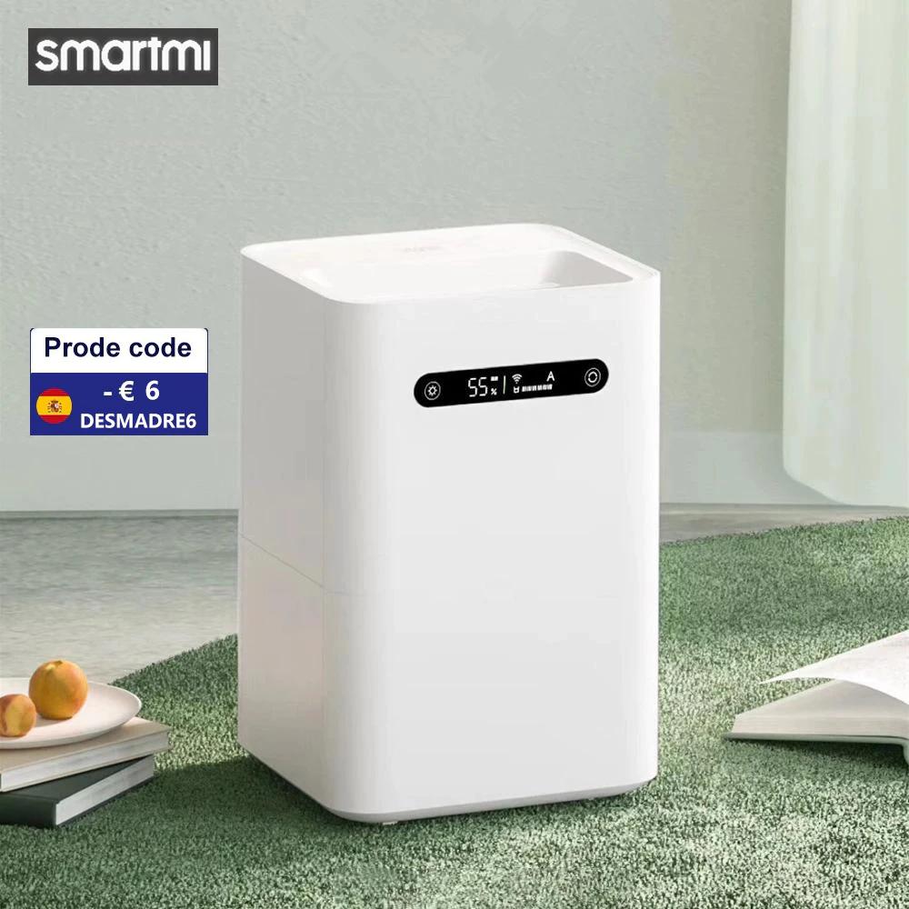 Smartmi Verdunstungs-Luftbefeuchter 2 (4l Wassertank, bis 260ml/h, für Räume bis 20m², 2.4GHz WLAN, Mi Home App, Display, ~50dB) V. a. Polen