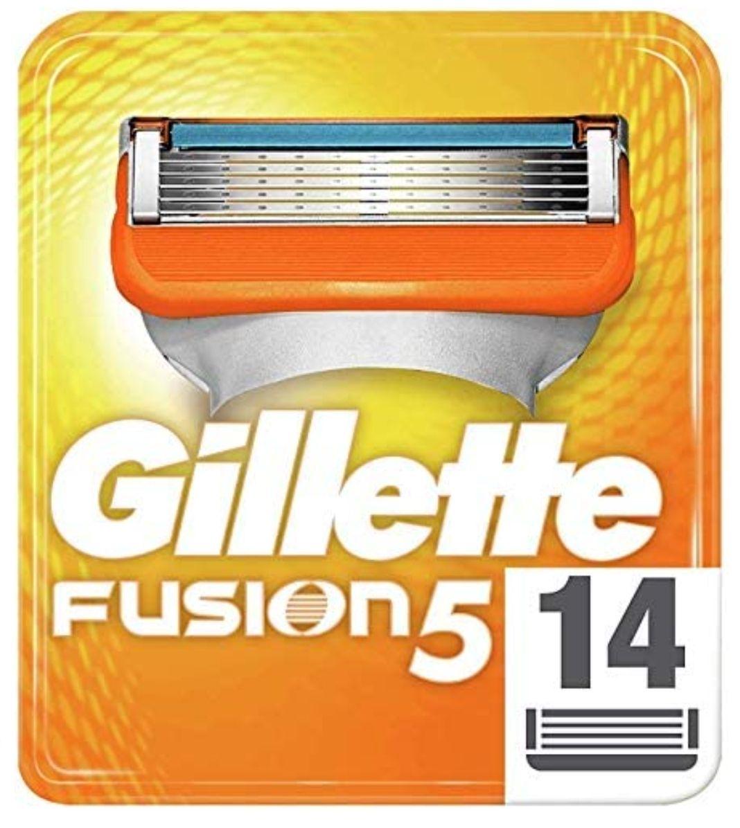 Gillette Fusion 5 Rasierklingen 14 Stück (2,07€ Stück) Im Sparabo noch günstiger 26,06€ (1,86€ Stück)