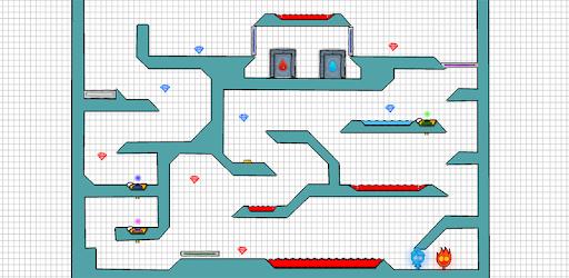 Fire and Water - Platformer Game (Enthält Werbung)