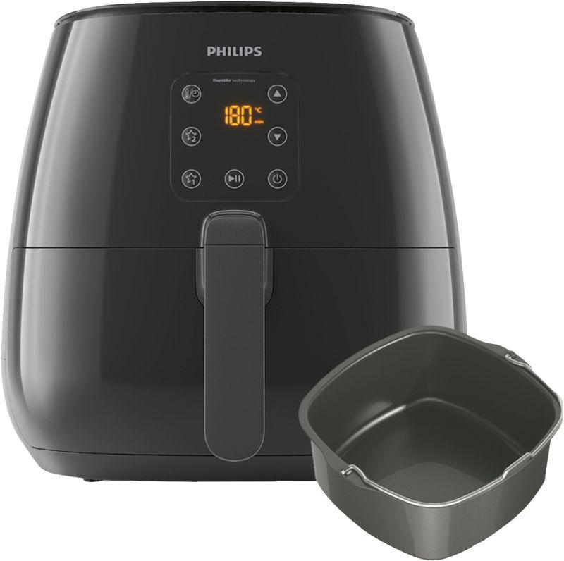 Philips Essential Airfryer XL HD9263/90 Heißluftfritteuse (1900W, 7l bzw. 1.2kg, spülmaschinenfester Einsatz)