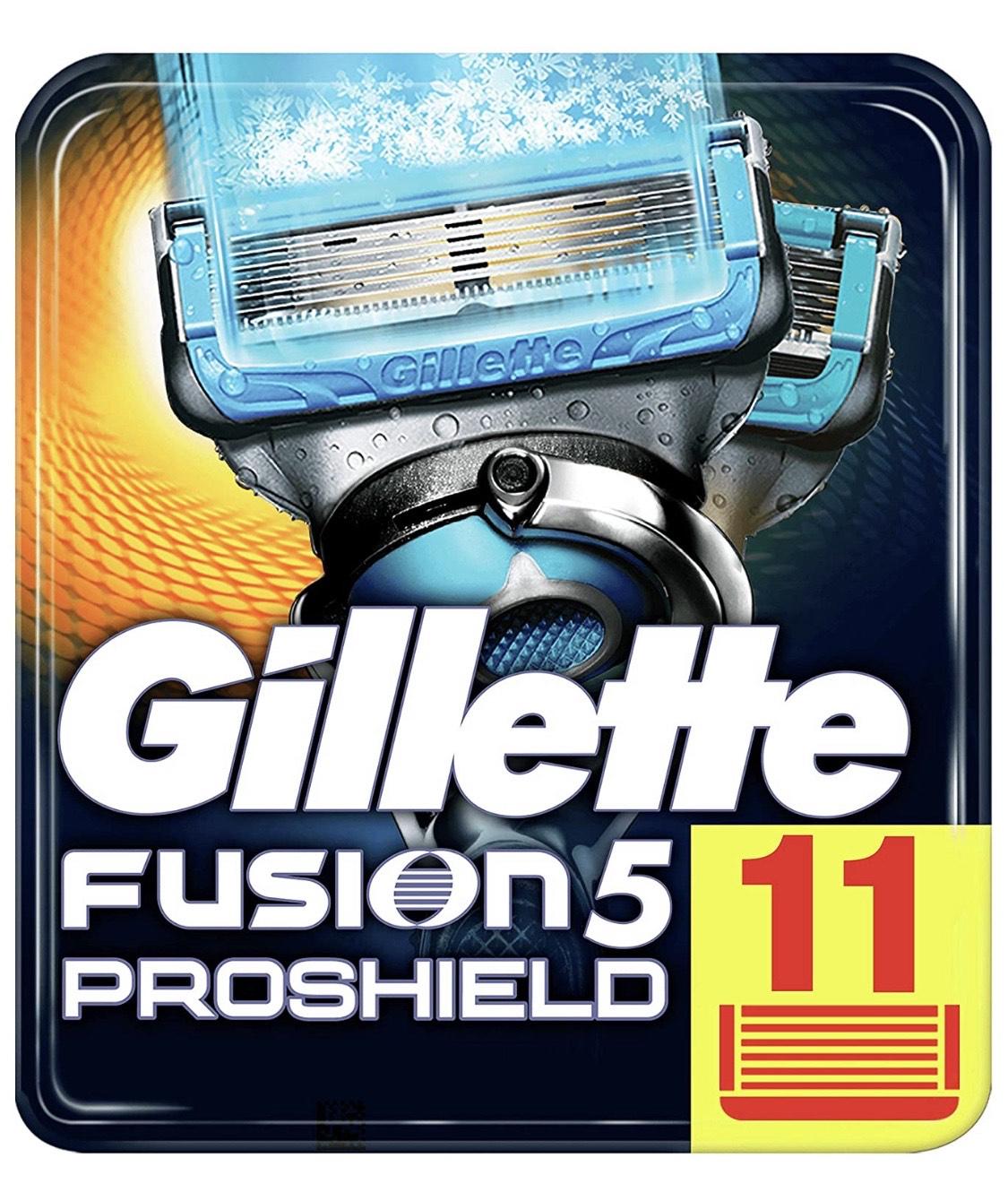 [Amazon] Gillette Fusion 5 ProShield Chill Rasierklingen 11 Klingen