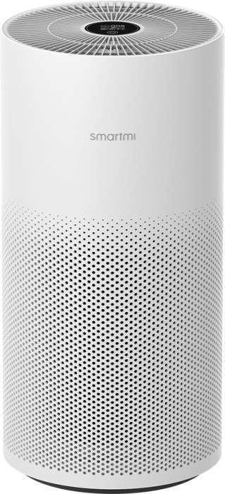 Smartmi Air Purifier Luftreiniger (bis 48m², 3 Stufen bis 400m³/h, HEPA-13, TVOC, Temperatur, Feuchtigkeit, OLED, Gesten, Mi Home App)