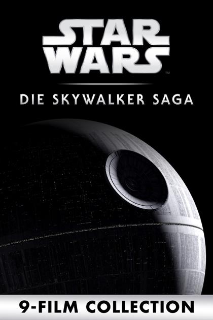 Star Wars 1-9 - Die Skywalker Saga (9 Film Collection) 4k, Dolby Vision, Dolby Atmos, iTunes Extras