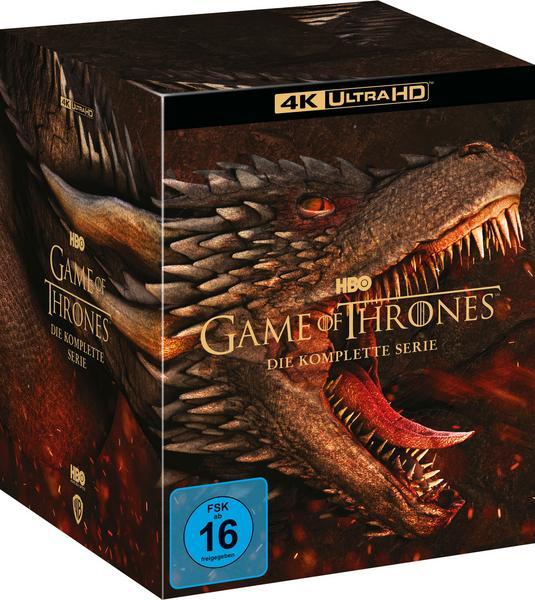 Game Of Thrones - TV Box Set (4K Ultra HD) [33 BR4K