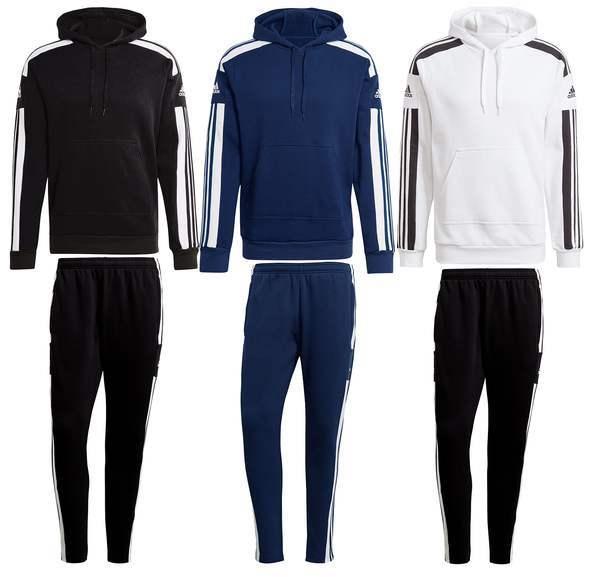 adidas Trainingsanzug Squadra 21 SW in 3 Farben (Größen S bis XXL)