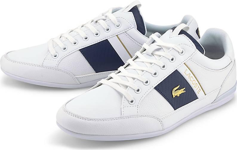 Lacoste Chaymon Lowcut Sneaker in Weiß für 77,35€ (statt 116€)