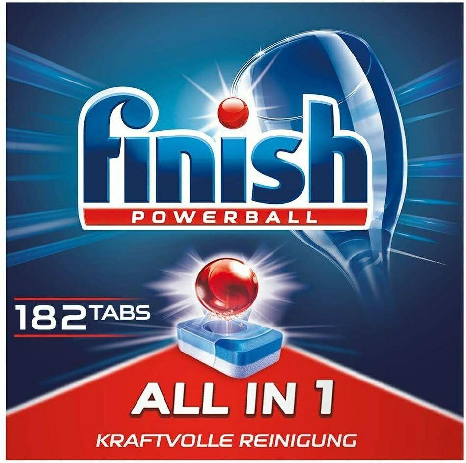 Finish Powerball Tabs 182er Pack (Personalisiert)