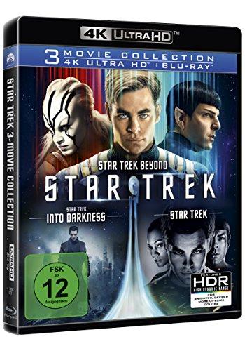 [amazon] Star Trek - 3-Movie Collection (4K Ultra HD) (3 Blu-ray 4K) (+ 3 Blu-ray 2D)