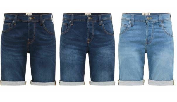 Mustang Herren Jeans Short Chicago in 3 Waschungen (ab 2 Stück gibt es 10% extra)