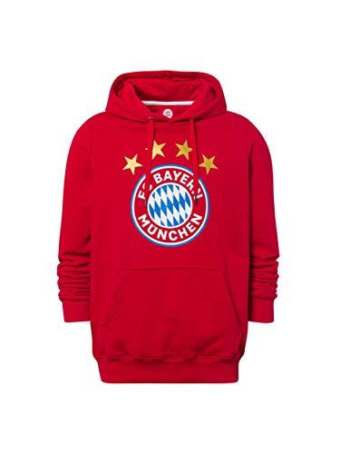 FC Bayern München Hoodie Logo rot @ Amazon DE / Offizieller Fanshop