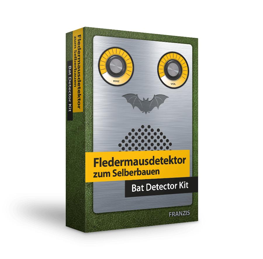 FRANZIS Fledermausdetektor zum Selberbauen ab 14 Jahren (Ultraschallwellen der Tiere hörbar machen)
