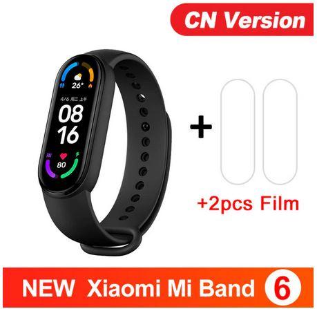 [AliExpress] Xiaomi Mi Band 6 CN + 2 Folien // 10 Tage Versand