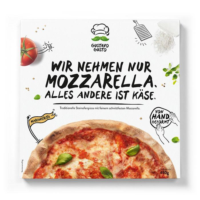 [Marktguru] Gustavo Gusto Pizza versch. Sorten mit Cashback für 2,99€ bei Netto MD, Penny + tlw. Kaufland