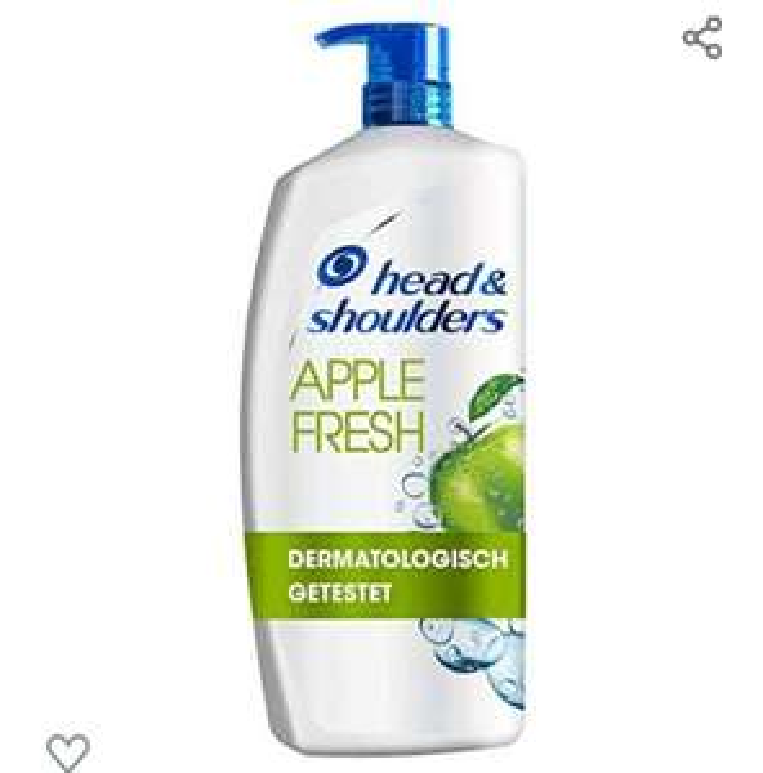 Head & Shoulders Apple Fresh 5x a' 900 ml