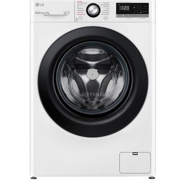 LG 7kg-Waschmaschine F14WM7EN0E (EEK D, 1350U/min, AquaStop, Dampf, Inverter-Motor, NFC) [ALTERNATE]