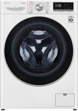 LG V7WD906A Waschtrockner (EEK E, 9 kg Waschen/ 6 kg Trocknen | AI DD™ | Steam+™ | TurboWash™)