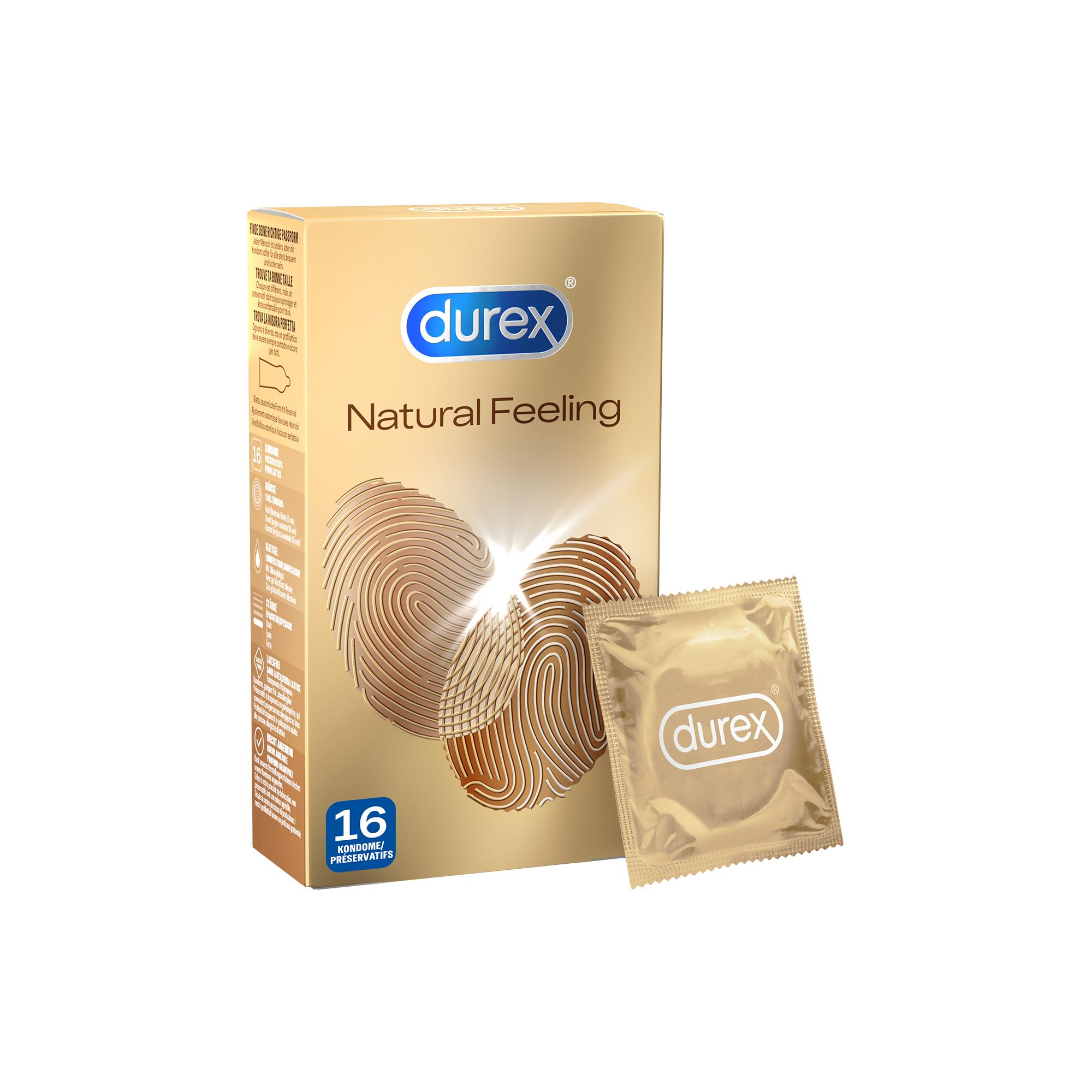 Gutscheinfehler - Durex Natural Feeling - Latexfreie Kondome 16er Packung