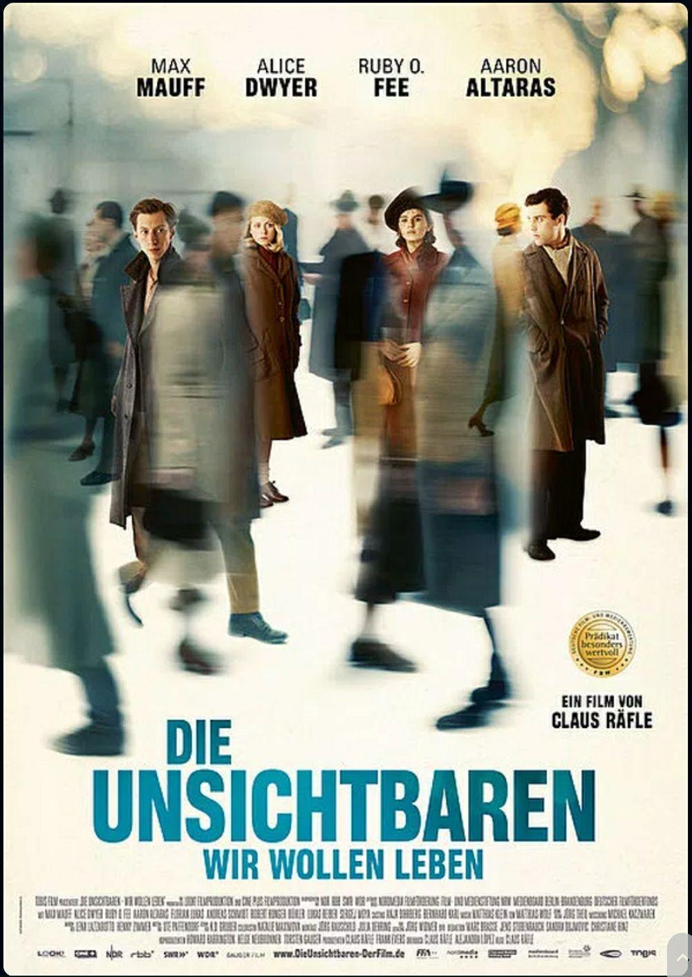 """[ARD Mediathek] """"Die Unsichtbaren - Wir wollen leben"""" kostenlos streamen [IMDb 7.2]"""