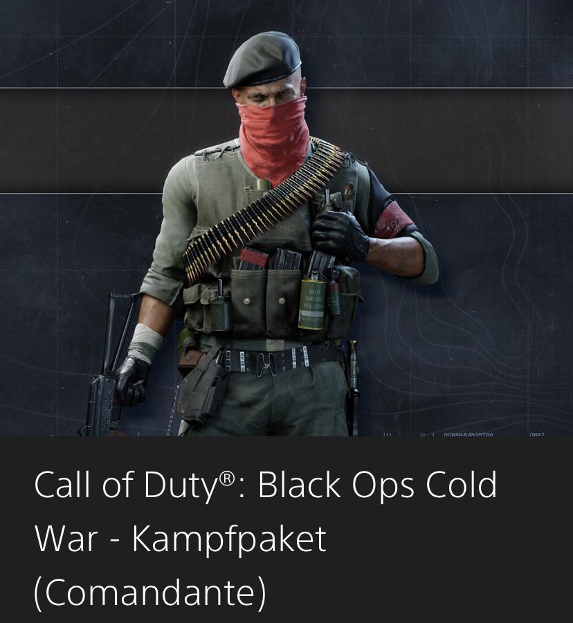 Call of Duty Kampfpaket (Comandante) - PS Plus kostenlos