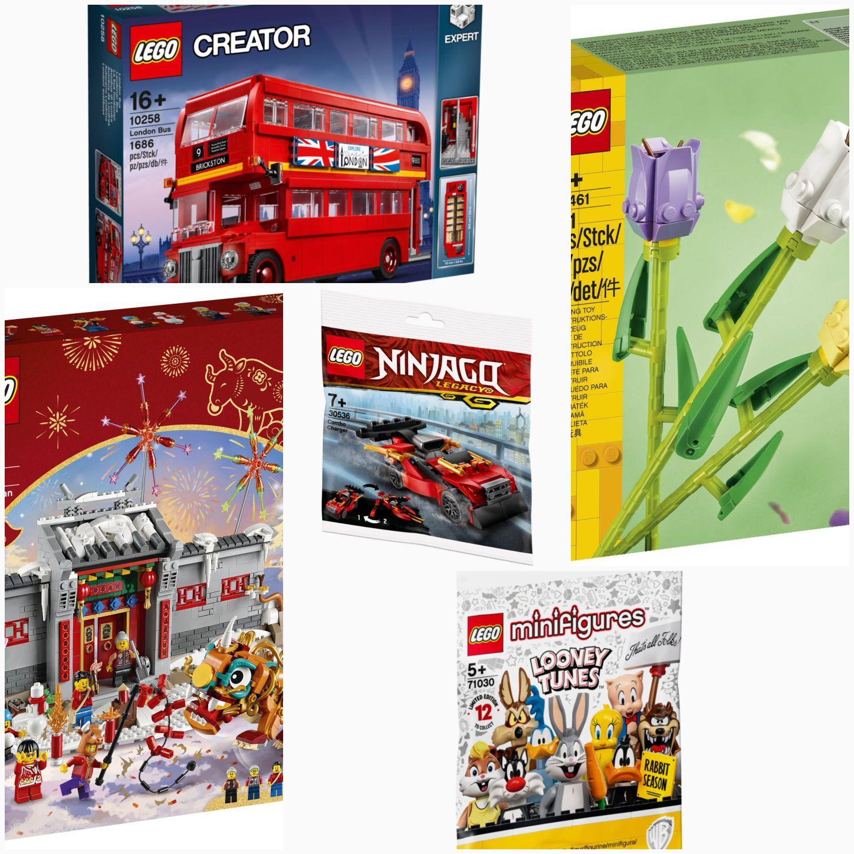 LEGO Kombi-Deal Exklusive Sets z.B. 80106 10258 30536 71030 40461