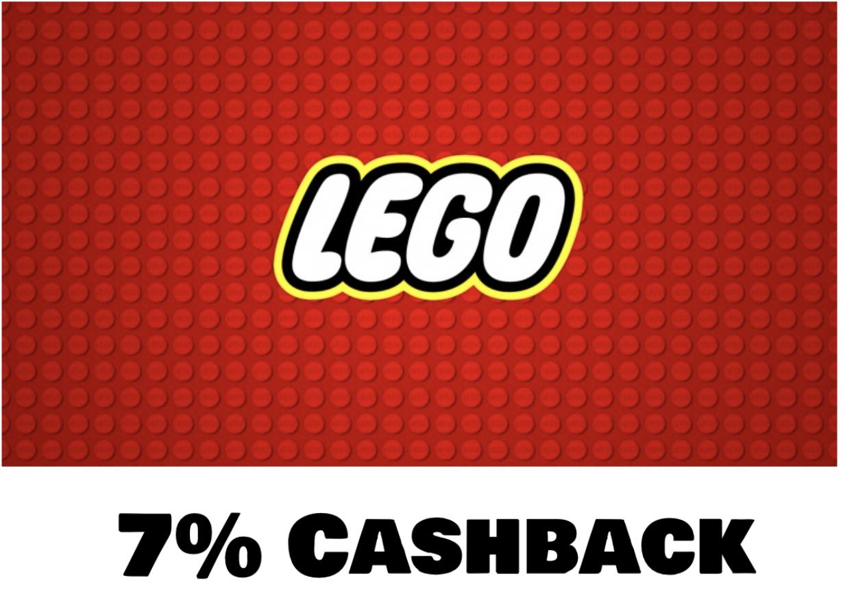 Shoop: 7% Cashback im Lego Shop