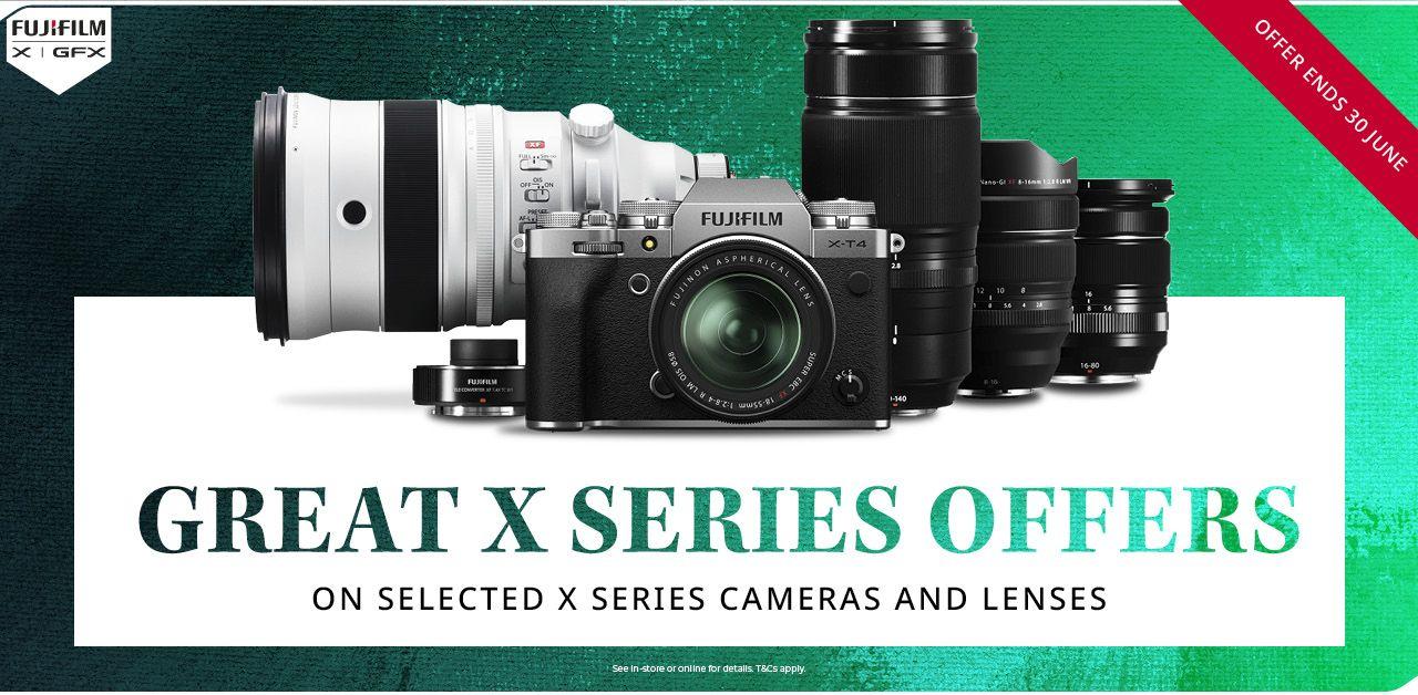 Bis zu 1900£ Sofortrabatt auf ausgewählte Fujifilm   Fujinon Kameras & Objektive - UK