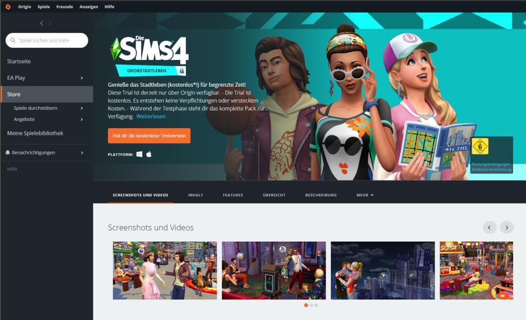 Die Sims4 - Großstadtleben KOSTENLOS Testen an diesem Wochenende