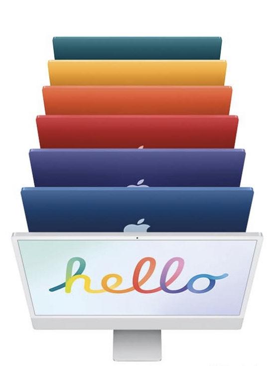 """2021 Apple iMac 24"""" 100€ Rabatt bei zinsloser 12 Monatsfinanzierung bei Mactrade"""
