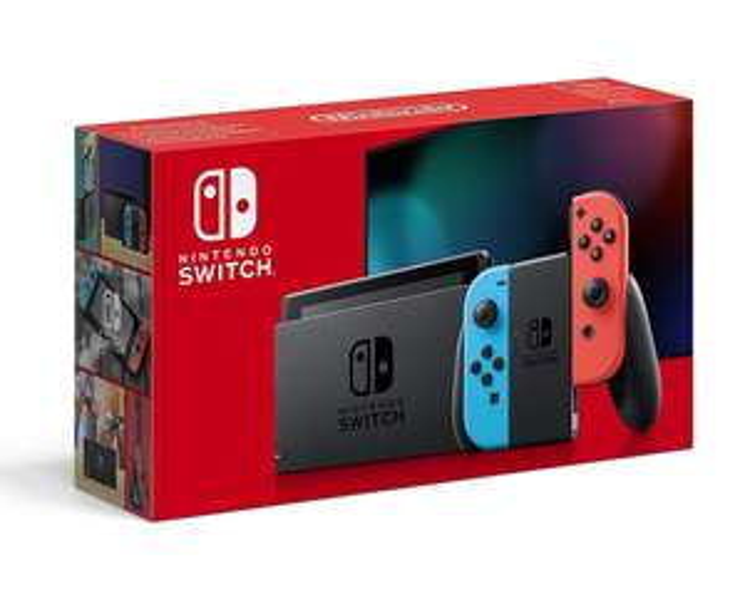 [Amazon.fr] Nintendo Switch rot / blau