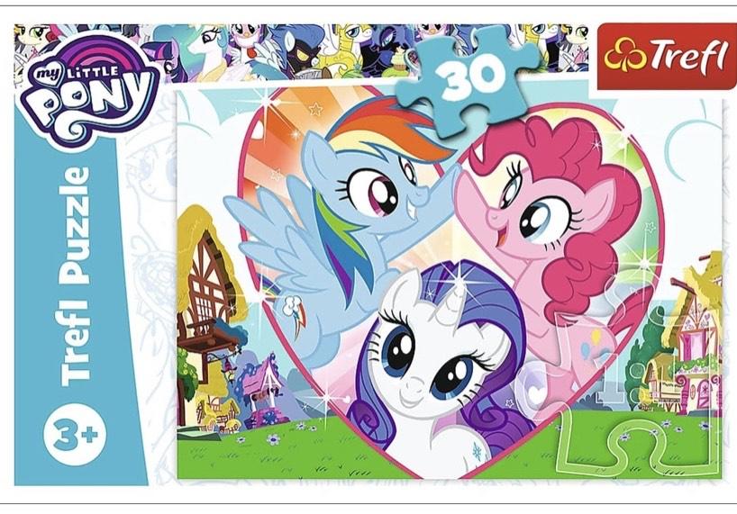 [Amazon Prime] Trefl Puzzle - My Little Pony - 30 Teile - ab 3 J.