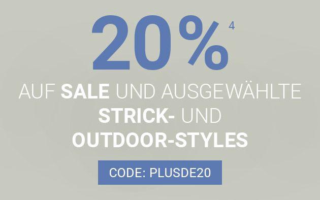 Peek & Cloppenburg: 20% auf tausende Artikel (2400 im Sale) + 12% Shoop