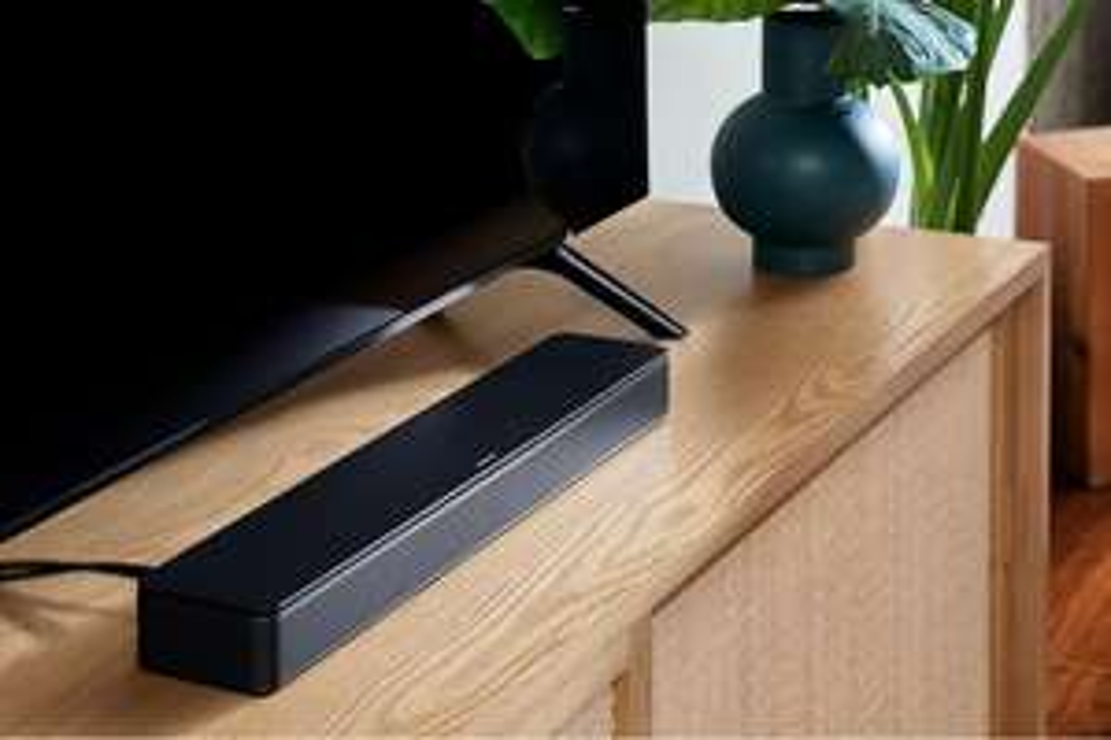 Bose TV Speaker ( Soundbar System, Bluetooth, HDMI, ARC, erweiterbar, inkl. Fernbedienung )