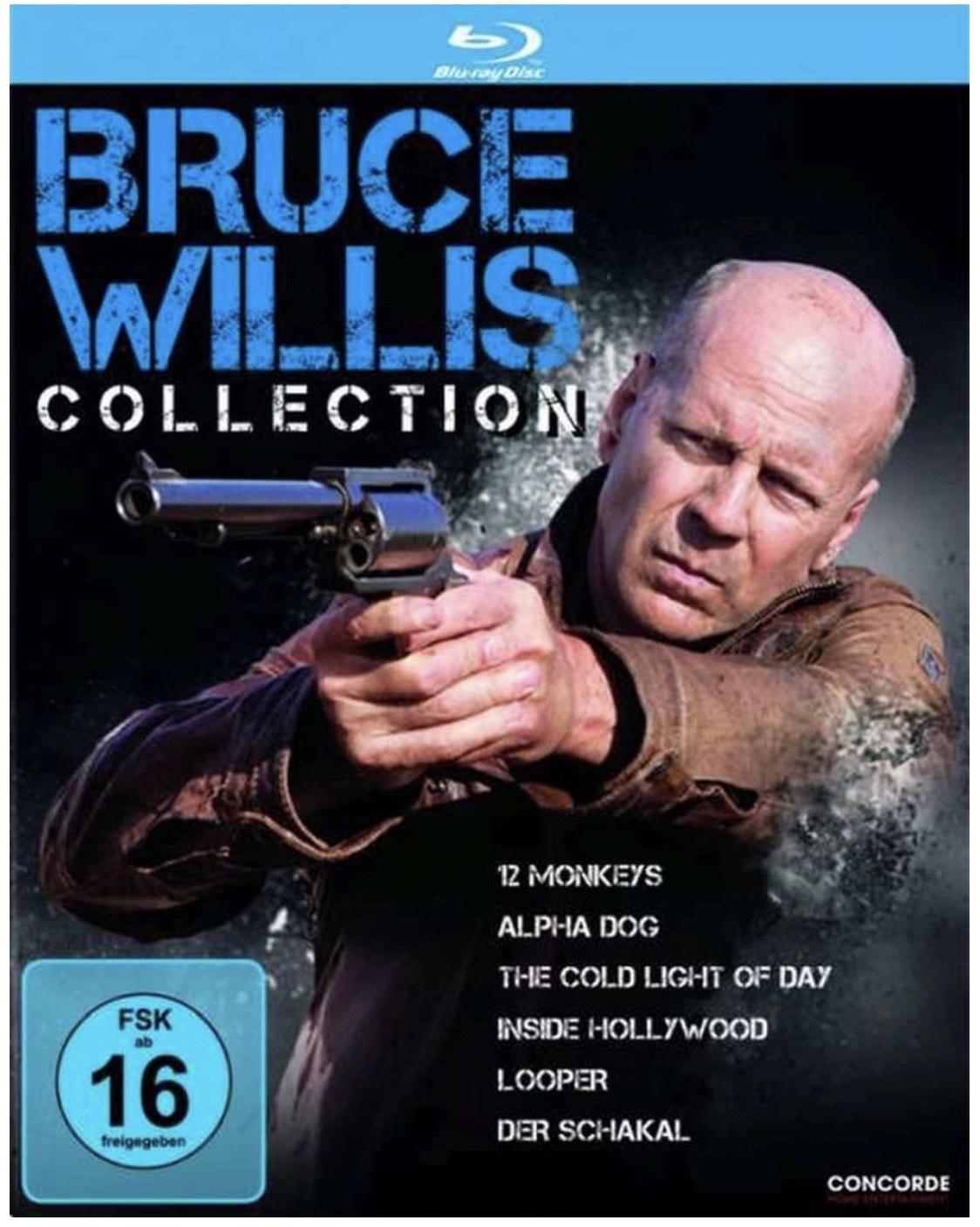 (Prime) Bruce Willis Collection   12 Monkeys   Der Schakal   Looper [Blu-ray]
