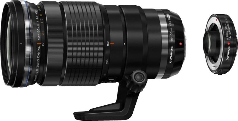 Gratis MC-14 1.4x Telekonverter beim Kauf von Olympus M.Zuiko Digital 40-150mm F2.8 PRO Objektiv