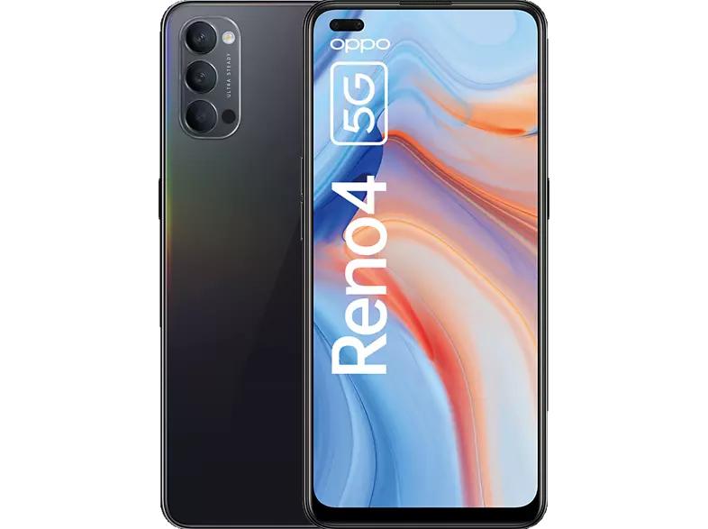 [MM/Saturn/Amazon] OPPO Reno4 5G Smartphone, 6,4 Zoll AMOLED Display, 128 GB ROM, 8 GB RAM, 48 MP Triple-Kamera, 32 MP Dual Front-Kamera