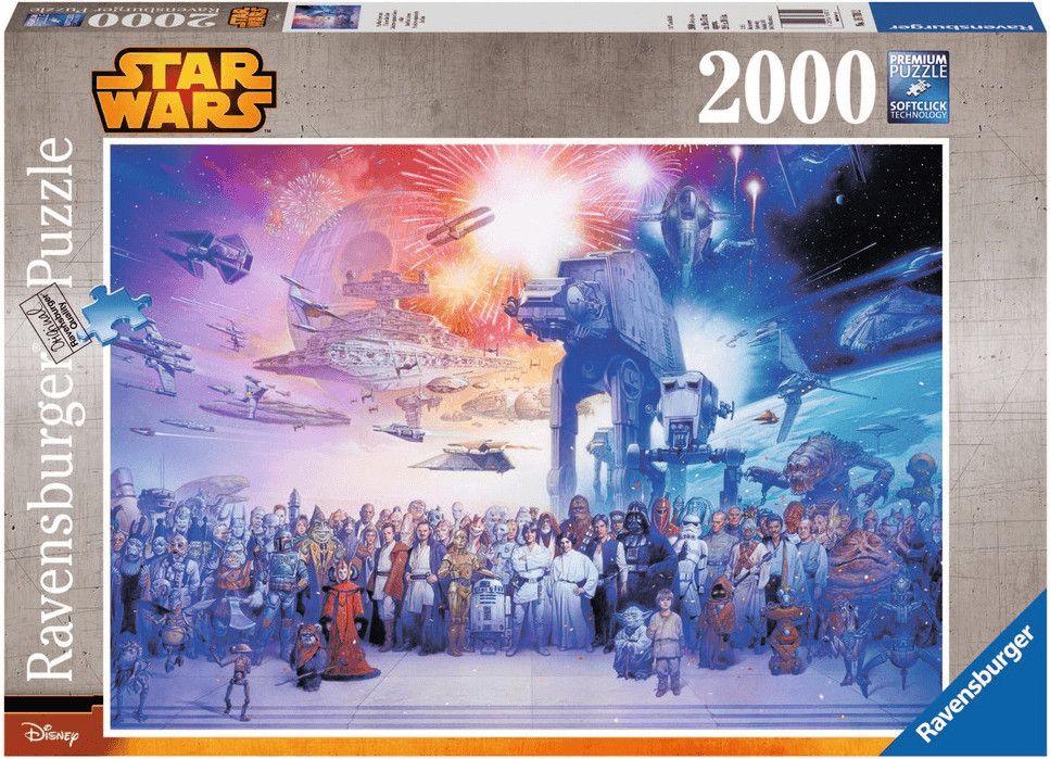 RAVENSBURGER Puzzle - Star Wars Universum - 2000 Teile Puzzle Mehrfarbig [Saturn Abholung]