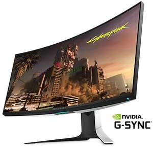 """[UPDATE] Alienware AW3420DW Ultrawide Gaming Monitor - ( 34"""" Ultrawide Curved, IPS, WQHD, 120 Hz, G-Sync. 2ms G2G, 350 cd/m² Helligkeit )"""