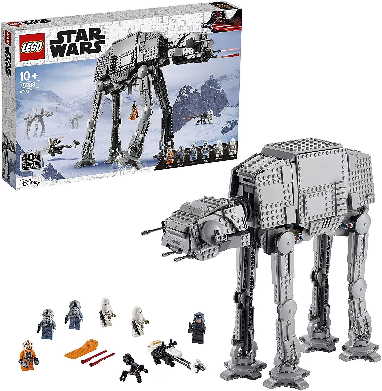 LEGO 75288 Star Wars at-at, Walker Spielzeug, 40. Jubiläum Set, Action-Set für EIN kreatives Spielerlebnis 95,99€