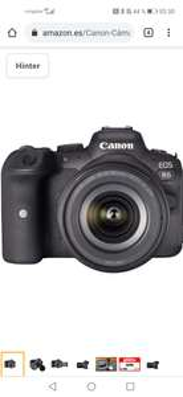 Canon Eos R6 mit Kit Objektiv 24-105 F4 - 7.1
