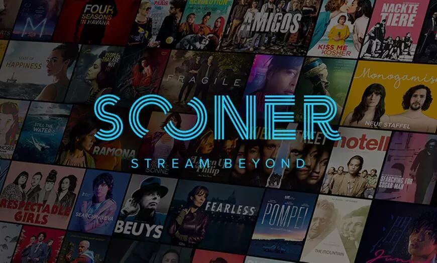 """3 Monate """"Sooner"""" Streaming-Dienst für 6,90€ (Filme, Serien & Dokus aus der Independent- & Arthouse-Szene)"""