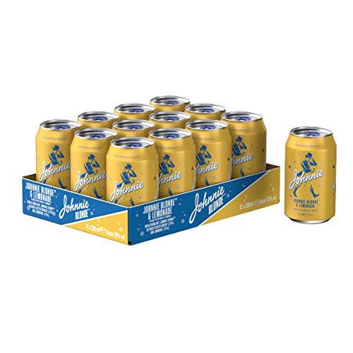 (Amazon Prime) Johnnie Blonde Lemonade Blended Scotch Mix-Getränk
