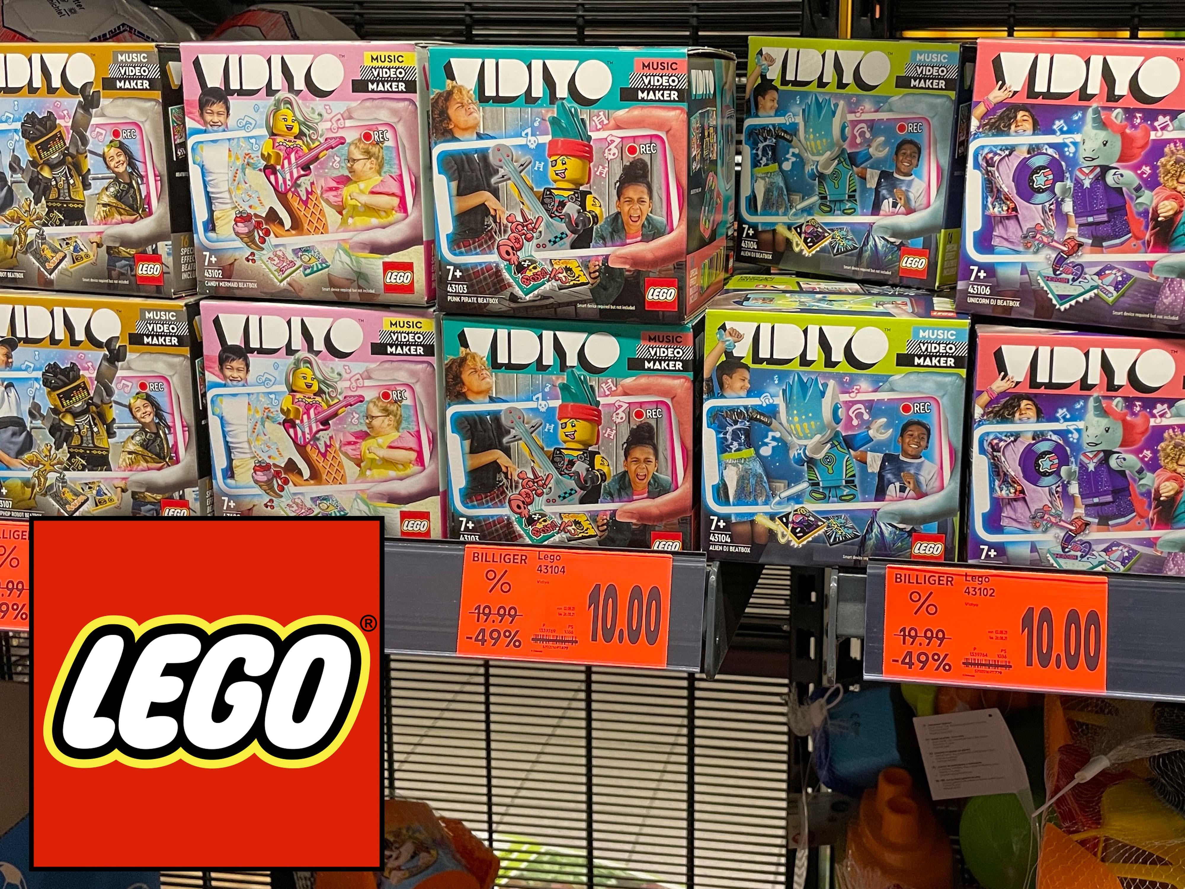 [Lokal Leipzig] Kaufland, LEGO VIDIYO BeatBox - 50% Rabatt (43102, 43104, 43105, 43107, 43103, 43106)