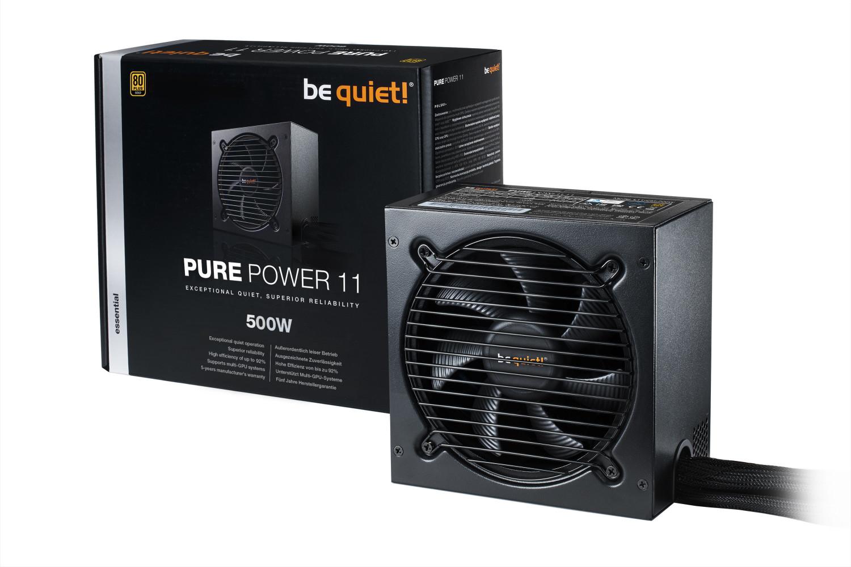 be quiet! Pure Power 11 500W 80+ Gold Netzteil für 48,39€ inkl. Versand (Amazon)