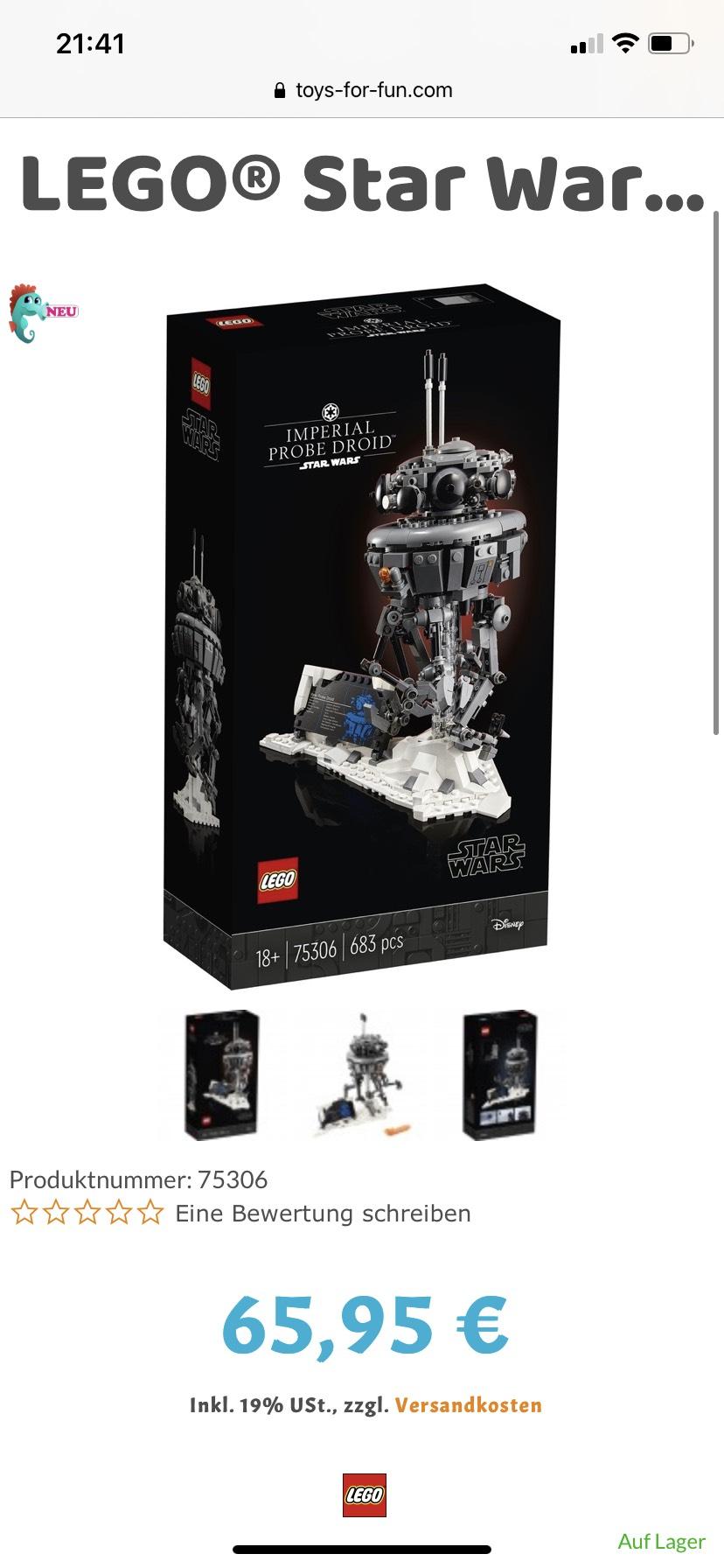 Lego Star Wars 75306