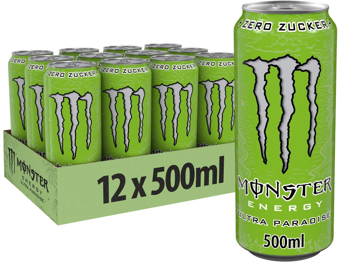 [Amazon prime personalisiert] Monster Energy Ultra Paradise -5 Euro geschenkt durch SPARABO-Trick! Beispiel ca. 50% effektiver Rabatt!