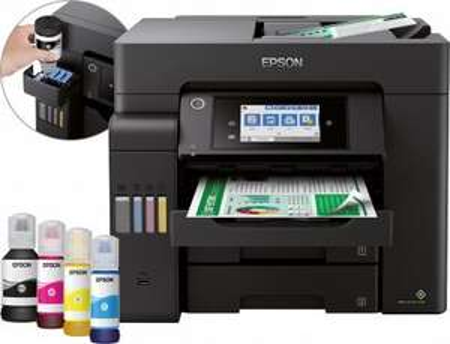 Epson EcoTank ET-5850 Tintenstrahl-Multifunktionsdrucker