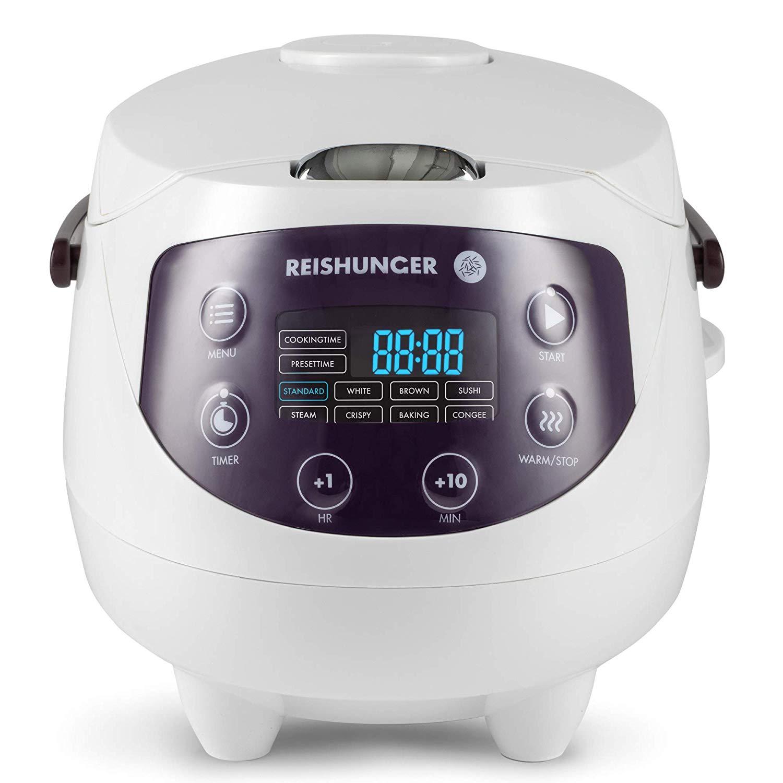 Digitaler Reishunger Mini Reiskocher (0,6l/350W/220V)