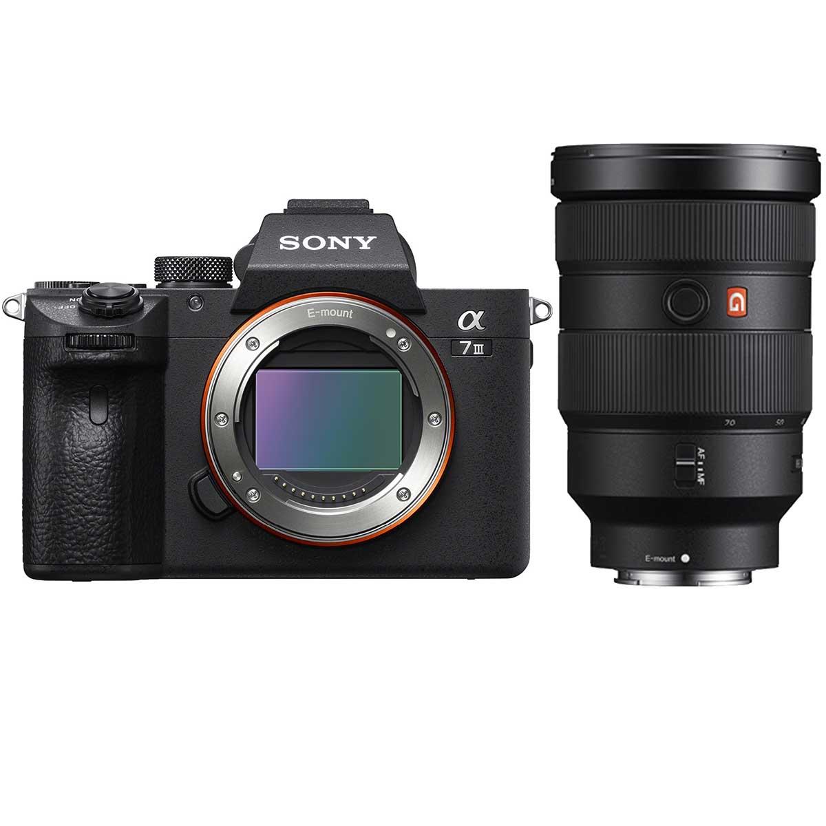 Sony Alpha 7 III + Sony FE 24-70mm 1:2,8 GM + 2. Akku für 3.118€ exkl. 500€ CB = 2.618€