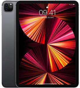 """Apple iPad Pro 11"""" 5G 128GB (2021) für 25€ ZZ mit o2 Data L (60GB LTE 5G, mtl. 49,99€) + 75€ BestChoice Gutschein"""