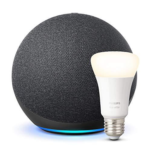 Amazon Echo 4 (kein Dot) mit Philips Hue White